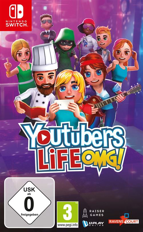 Youtubers Life OMG ! Nintendo Switch