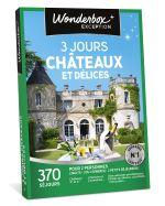 WOND Coffret cadeau Wonderbox 3 jours châteaux et délices