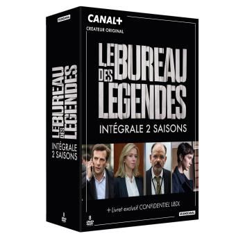 Le Bureau des légendesLe bureau des légendes Saisons 1 et 2 Coffret DVD