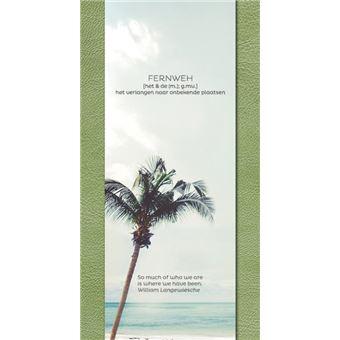 Fernweh Travel Notebook green