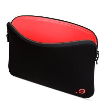 "Housse Be.ez La Robe Black Addicted Strawberry pour MacBook Air13""/Pro13"""