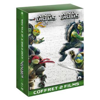 Ninja TurtlesNinja Turtles Coffret Collector 2 films DVD