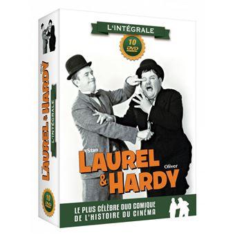 Laurel et HardyCoffret Laurel et Hardy L'intégrale DVD