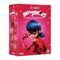 Coffret Miraculous, les aventures de LadyBug et Chat Noir Volumes 7 à 10 DVD