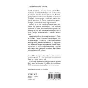 CONTRE-ENQUÊTE GRATUIT PDF MEURSAULT TÉLÉCHARGER