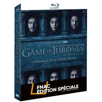 Game Of Thrones, Le trône de ferGame of Thrones Saison 6 Edition spéciale Fnac Blu-ray