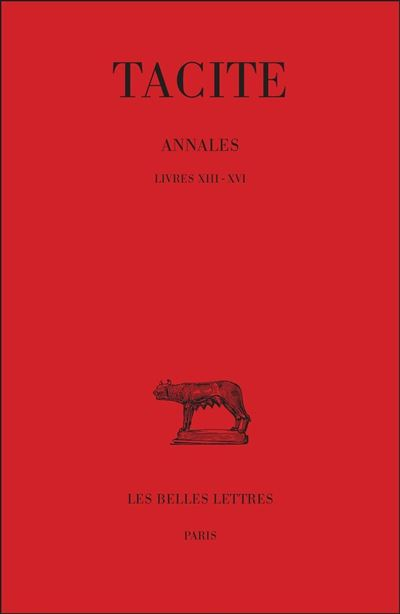 Annales. Tome IV : Livres XIII-XVI