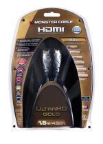 Câble Monster HDMI Ultra HD 1.5 m Gold