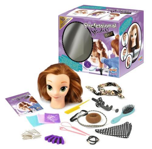 Tête à coiffer Professional Studio Hair Buki
