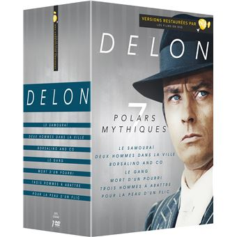Coffret Alain Delon 7 films DVD