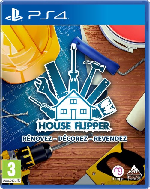 House Flipper Rénovez, décorez, revendez PS4