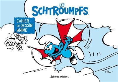 Les schtroumpfs - Cahier de dessin animé