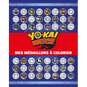 Yokaï WatchYo-Kaï Watch - Mes Médaillons à colorier