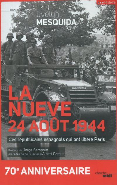 La nueve, 24 août 1944 ne