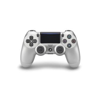 Manette PS4 sans fil Sony Dual Shock Argent V2