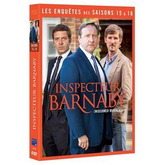 Inspecteur BarnabyCoffret Inspecteur Barnaby Saisons 15 et 16 DVD