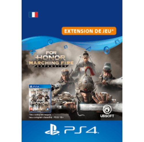Code de téléchargement For Honor Marching Fire PS4