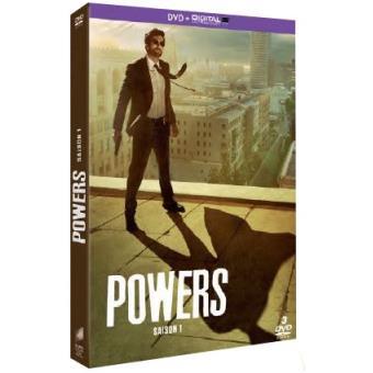 PowersPowers Saison 1 DVD + UV