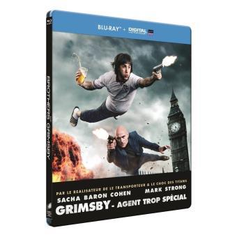 Grimsby Agent trop spécial Steelbook Blu-ray
