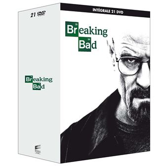 Breaking BadCoffret Breaking Bad L'intégrale de la série Edition Walter White DVD