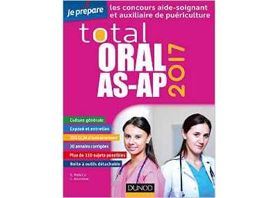 TOTAL ORAL AS-AP 2017 - Concours Aide-soignant et Auxiliaire de puériculture