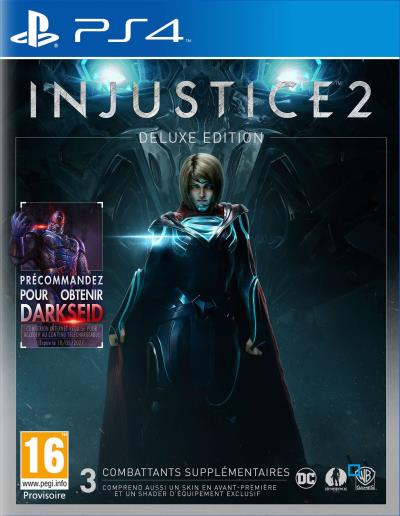 Injustice 2 Edition Deluxe PS4