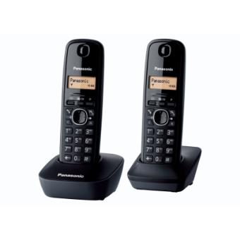 Panasonic Cordless Dect Telephone - Duo KX-TG1612BLH