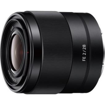 Sony FE 28mm F / 2 SEL hybride lens Zwart