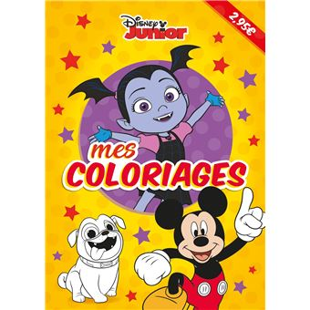 DISNEY JUNIOR - Mes Coloriages