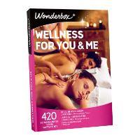 Coffret cadeau Wonderbox Wellness for you and me