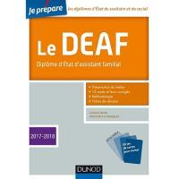 Le DEAF - 2017-2018 - Diplôme d'État d'assistant familial