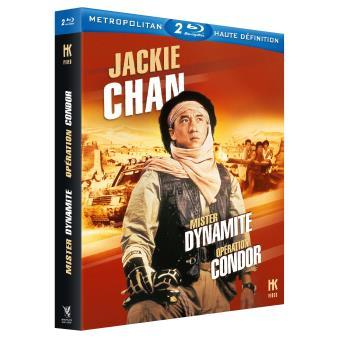 Coffret Mister Dynamite et Opération Condor Blu-ray