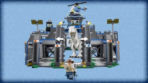 World 75919 Lego® Jurassic L'evasion Rex D'indominus b6yfgIv7Ym