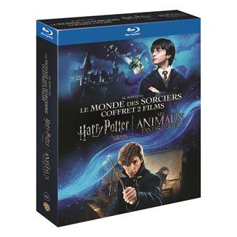 Harry PotterCoffret Harry Potter à l'école des sorciers Les Animaux Fantastiques Blu-ray