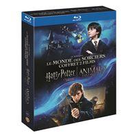 Coffret Harry Potter à l'école des sorciers Les Animaux Fantastiques Blu-ray