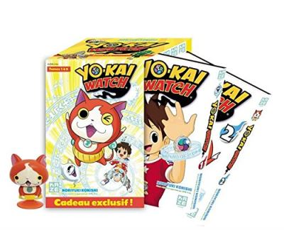 Yo-Kai Watch - Saison 1, Coffret 5 Volumes : Tome 1 à Tome 5 : Yo-Kai Watch Coffret saison 1