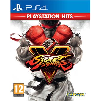 Street Fighter V Playstation Hits PS4