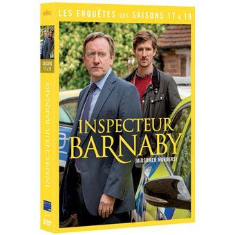 Inspecteur BarnabyCoffret Inspecteur Barnaby Saisons 17 et 18 DVD
