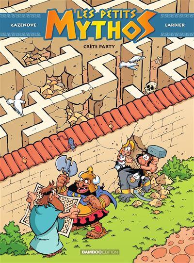 Les Petits Mythos - Tome 11 - Crète party