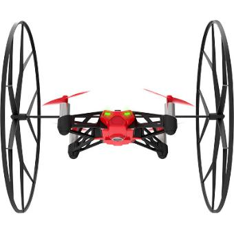 MiniDrone Parrot Rolling Spider Rouge