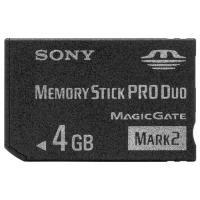 Sony - flashgeheugenkaart - 4 GB - Memory Stick PRO Duo Mark2