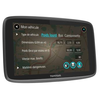 gps tomtom go professional 6200 cartes d 39 europe pour grands v hicules vie traffic et zones. Black Bedroom Furniture Sets. Home Design Ideas