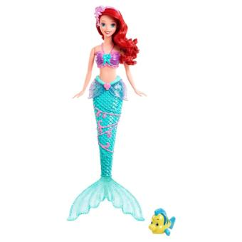 Disney princesses ariel jeux aquatiques mattel poup e - Jeux de ariel et son prince ...