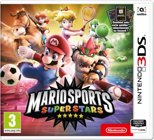 Mario Sports SuperStars Nintendo 3DS + 1 Carte Amiibo