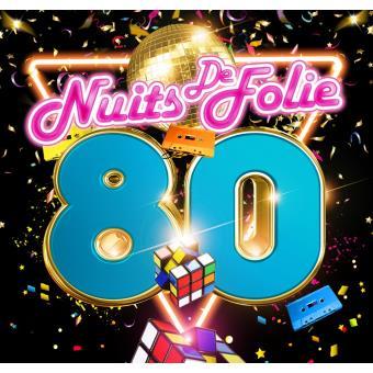 Nuits de folie 80' Coffret
