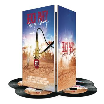 Beach Party George Lang Coffret 4 CD