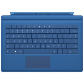 Verlicht toetsenbord Microsoft Type Cover voor Surface Pro 3, Cyan ...