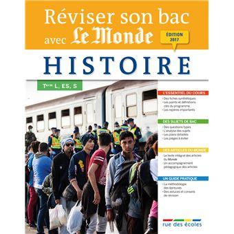 Réviser son Bac avec le Monde : Histoire Term L, ES, S