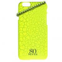 So Seven Fluo Case voor iPhone 6 Geel