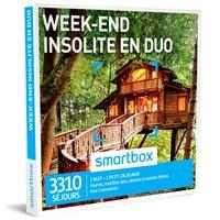 ed8b7e44074 Coffret cadeau Smartbox Week-end insolite en duo